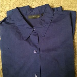 Relativity blue blouse